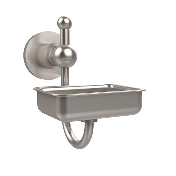 Satin Nickel Wall-Mounted Soap Dish , image 1