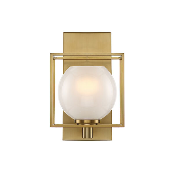 Cowen Brushed Gold One-Light Wall Sconce, image 3
