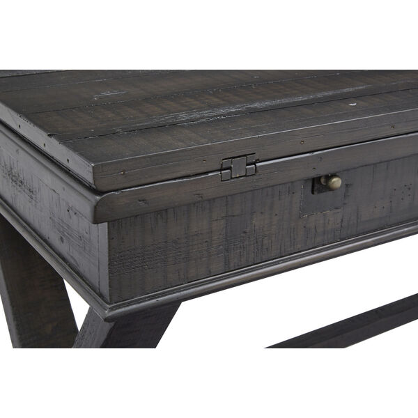 Stepford Gray Flip Top Sofa Table, image 5
