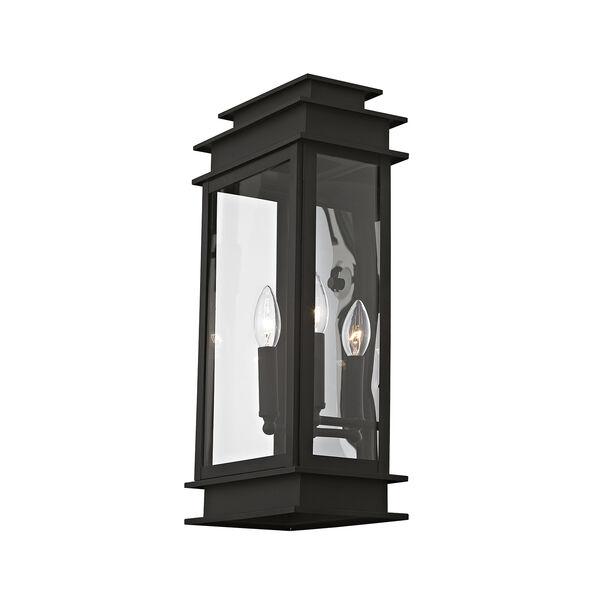 Princeton Black Two-Light 19-Inch Wall Lantern, image 4