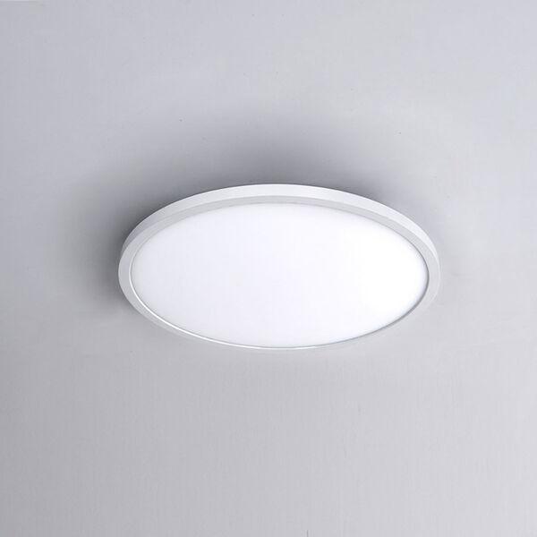 White 11-Inch 3000K LED ADA Round Flush Mount, image 4