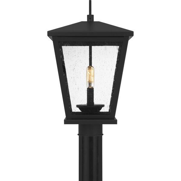 Joffrey Matte Black Two-Light Outdoor Post Mount, image 4
