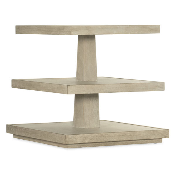 Cascade Taupe End Table, image 1
