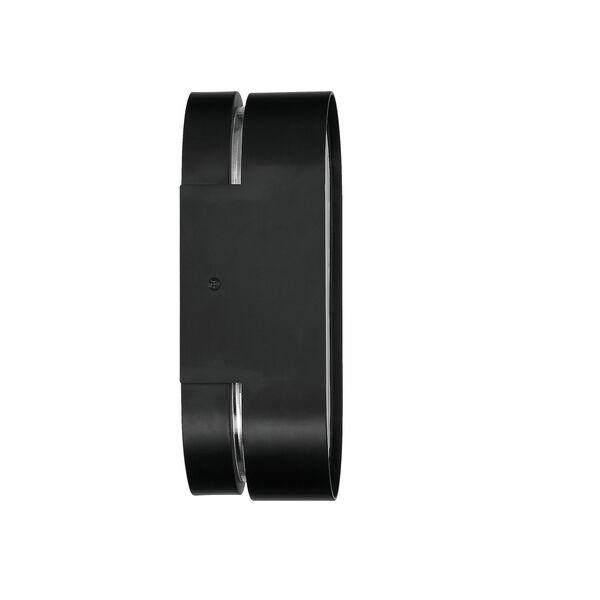 Melody Flat Black LED Wall Sconce, image 5