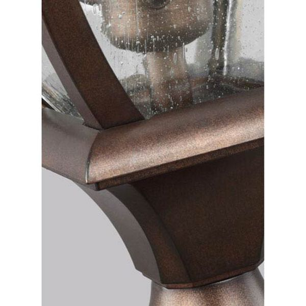 Hereford Bronze Three-Light Outdoor Post Lantern, image 2
