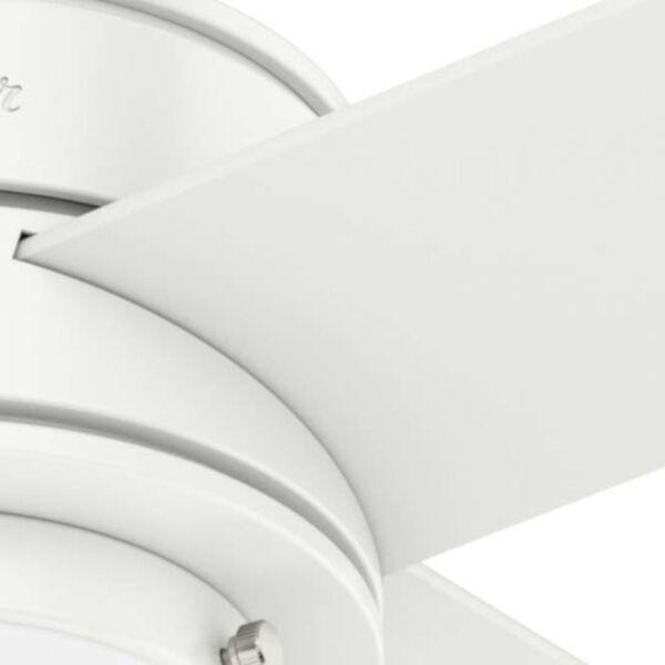 Hepburn Matte White 44-Inch LED Ceiling Fan, image 6