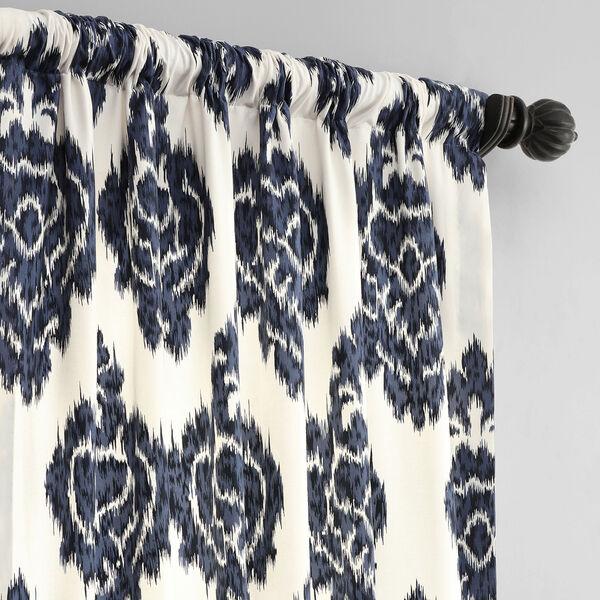Ikat Multi 50 x 96-Inch Printed Curtain, image 3