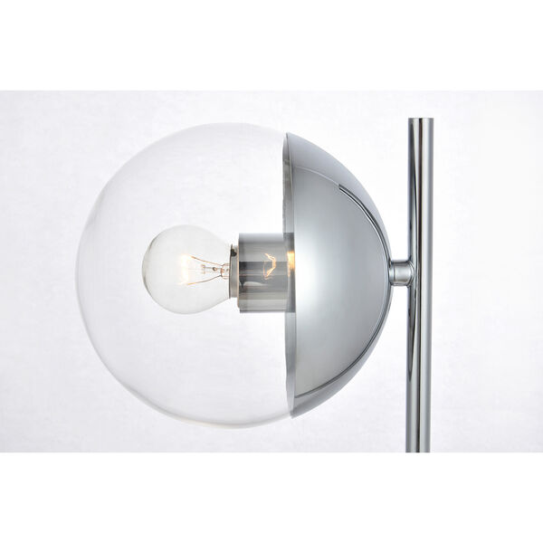 Eclipse Chrome One-Light Table Lamp, image 4