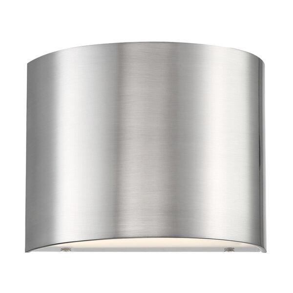 Pocket Brushed Nickel Three-Inch LED Wall Sconce, image 2