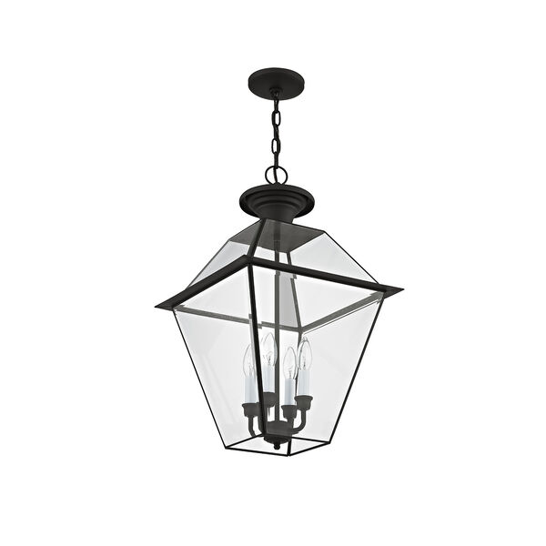 Westover Black Four-Light Outdoor Chain Hang, image 5
