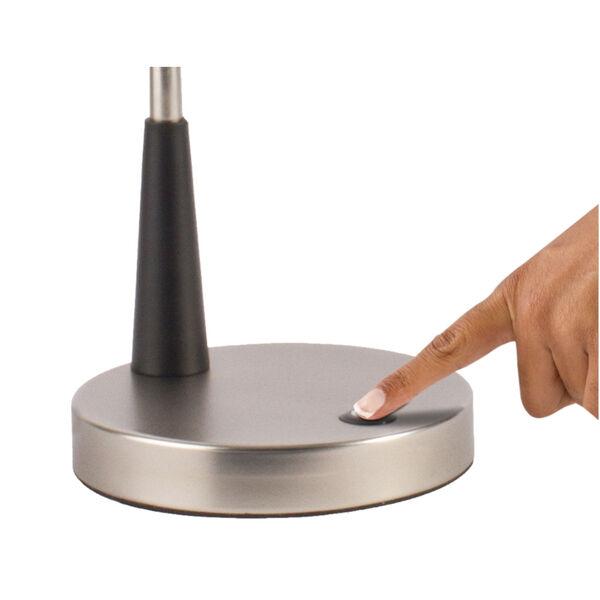 Adjust Matte Black LED Desk Lamp, image 3