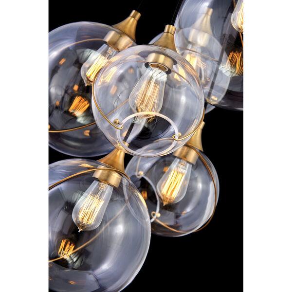 Skye Heritage Brass Six-Light Chandelier, image 4