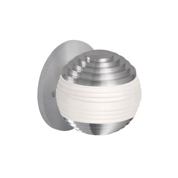 Nickel One-Light LED Sconce, image 1