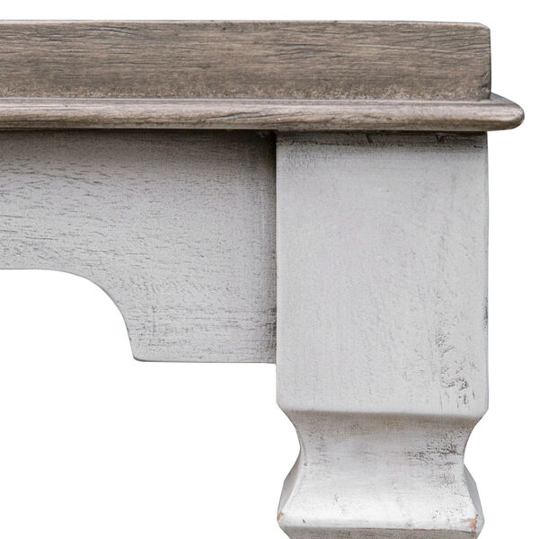 Calypso Gray and White Side Table, image 7
