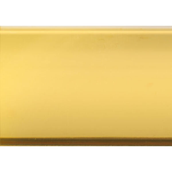 Gold Coffee Table with Tempered Glass, image 6