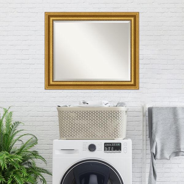 Parlor Gold 34W X 28H-Inch Bathroom Vanity Wall Mirror, image 5