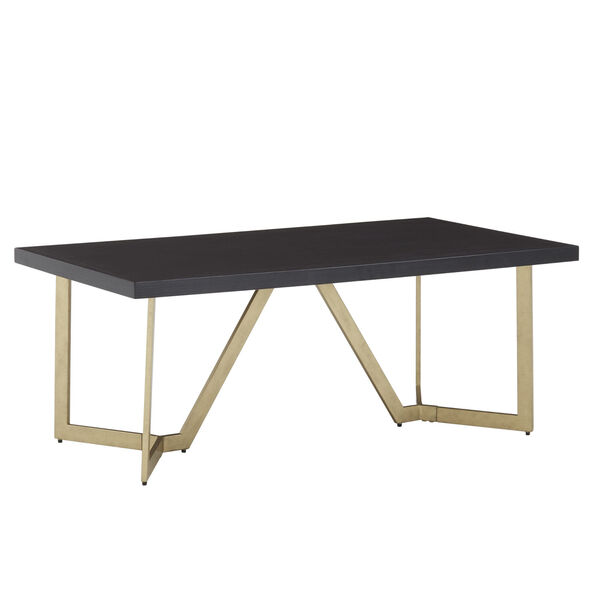 Helena Black and Gold Coffee Table, image 1