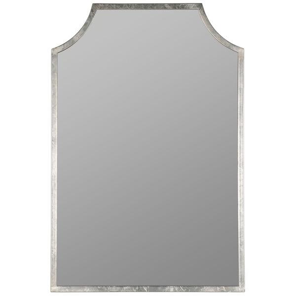 Simone Silver Leaf 36-Inch x 24-Inch Wall Mirror, image 2