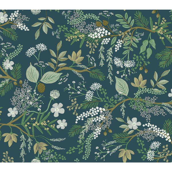 Rifle Paper Co. Pine Juniper Forest Wallpaper, image 2