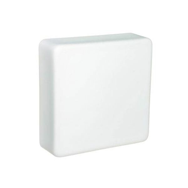 Geo 9 Opal Matte One-Light LED Outdoor Wall Sconce, image 1