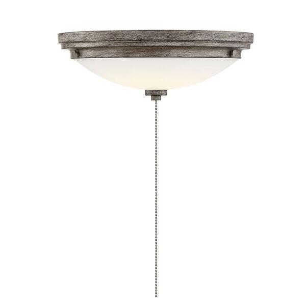 Lucerne Aged Wood One-Light Fan Light Kit, image 1