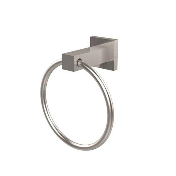 Montero Satin Nickel Towel Ring, image 1