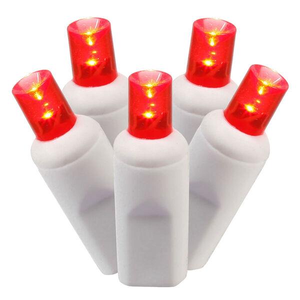 Red LED Light Set with 100 Lights, image 1