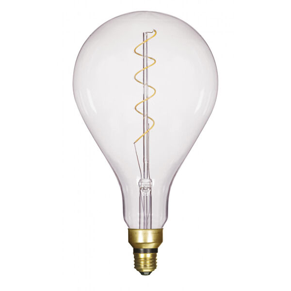 SATCO Transparent Six-Inch LED Filament Bulb, image 1