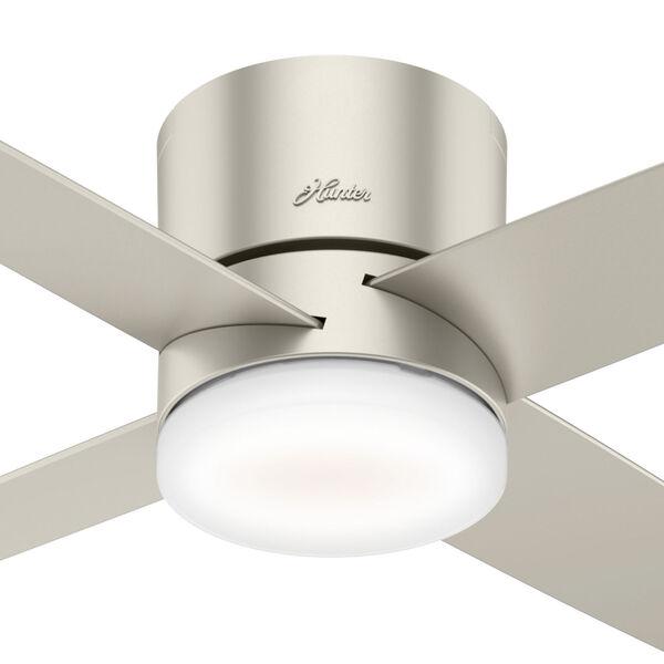 Advocate Low Profile Matte Nickel 54-Inch DC Motor Smart LED Ceiling Fan, image 4