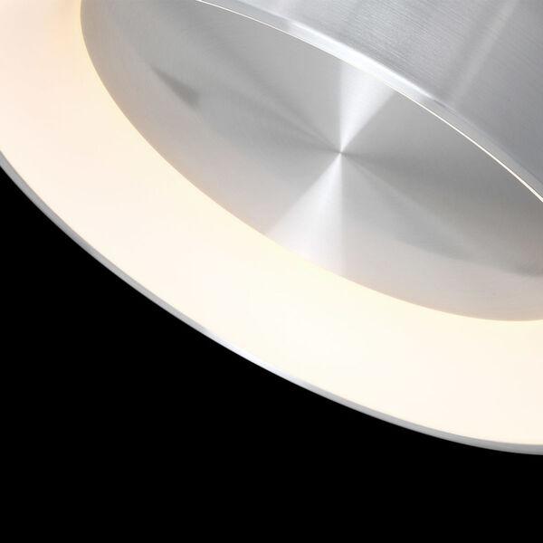 Corso Brushed Aluminum 23-Inch LED Flush Mount, image 2