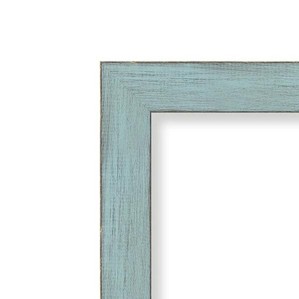 Sky Blue Medium Rustic Wall Mirror, image 3
