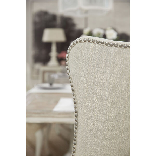 Sanctuary Light Wood Upholstered Chair, image 2
