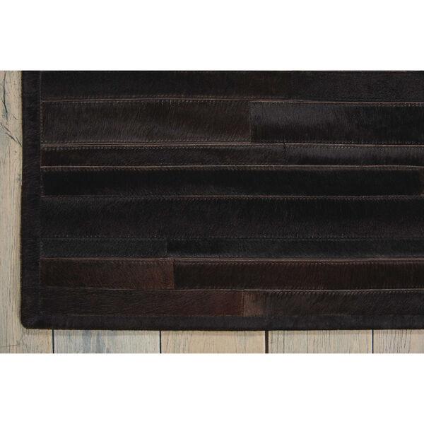 Prairie Black Rectangular: 5 Ft. 6 In. x 7 Ft. 5 In. Rug, image 3