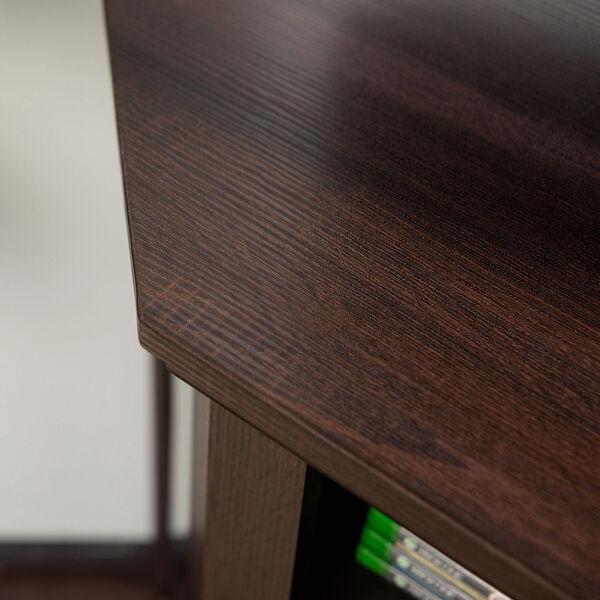 48-inch Corner Fireplace TV Stand - Espresso, image 3