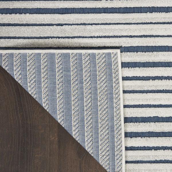 Calobra Blue 7 Ft. 10 In. x 9 Ft. 10 In. Indoor/Outdoor Rectangle Area Rug, image 3