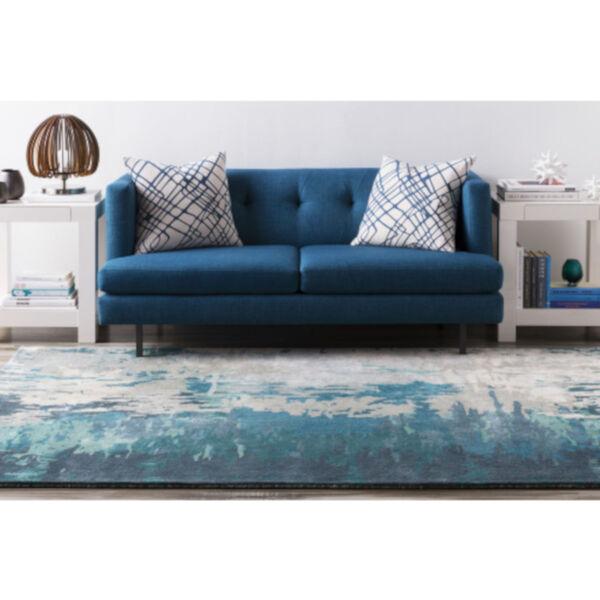 Banshee Blue Rectangular Rug, image 2