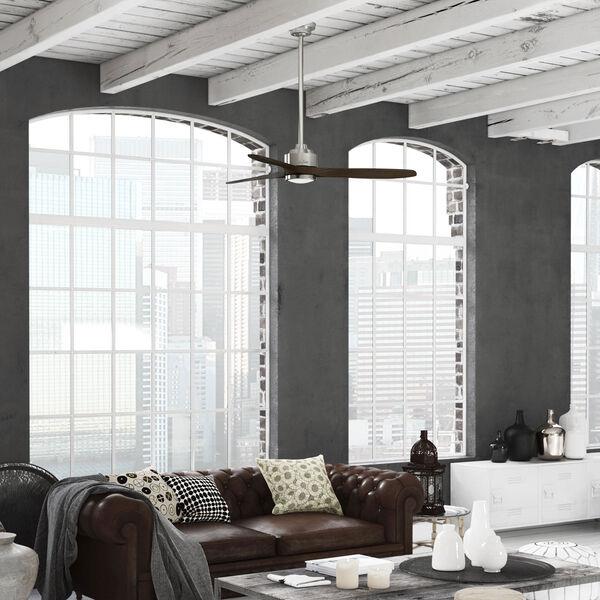 Melbourne Brushed Nickel 52-Inch One-Light LED Ceiling Fans, image 3
