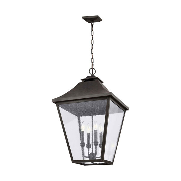 Galena 29-Inch Sable Four-Light Outdoor Pendant, image 1