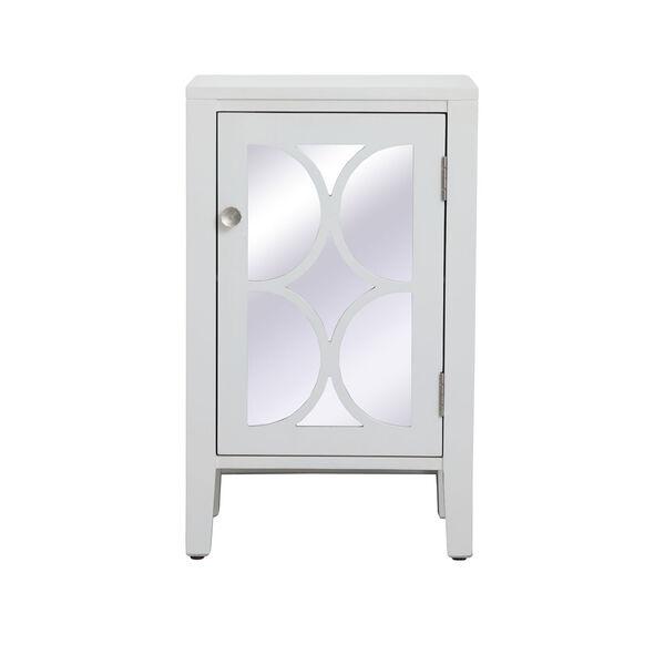 Modern White 18-Inch Cabinet, image 1