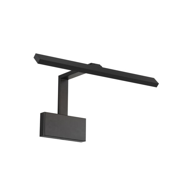 Uptown Black 17-Inch LED Picture Light, image 1