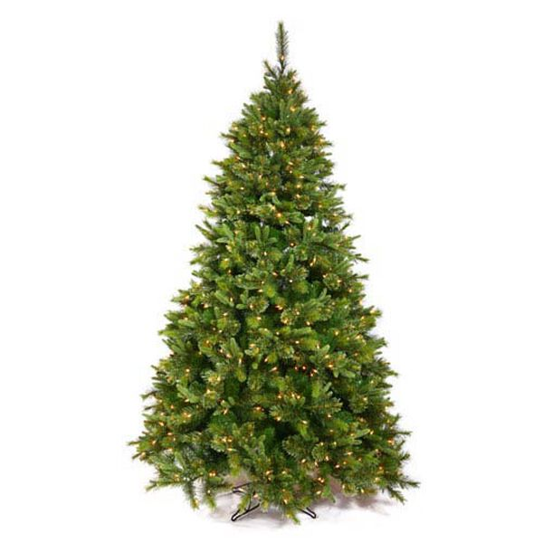 Cashmere Pine 6.5-Foot Christmas Tree w/500 Clear Dura-Lit Lights and 1178 Tips, image 1