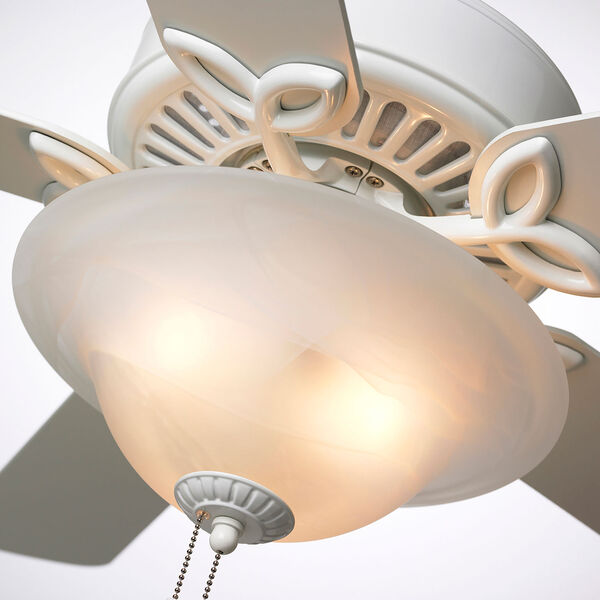 Pro Series White 50-Inch Ceiling Fan, image 4