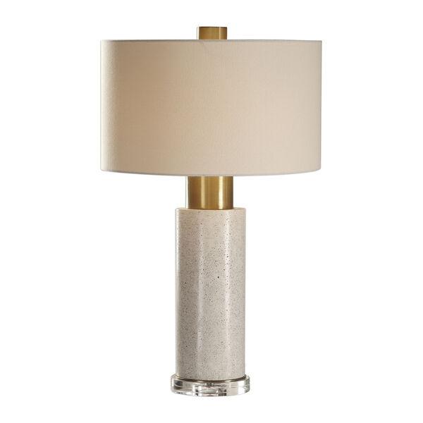 Vaeshon Concrete One-Light Table Lamp, image 1