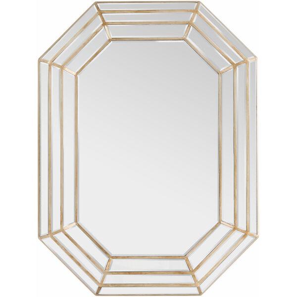 Gordon Champagne Wall Mirror, image 1