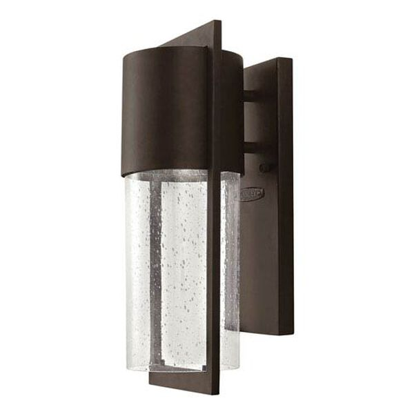 Brixton Bronze Six-Inch One-Light Outdoor Wall Mount, image 1