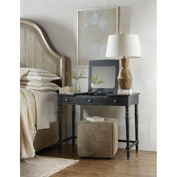 Alfresco Black Vanity Desk, image 4