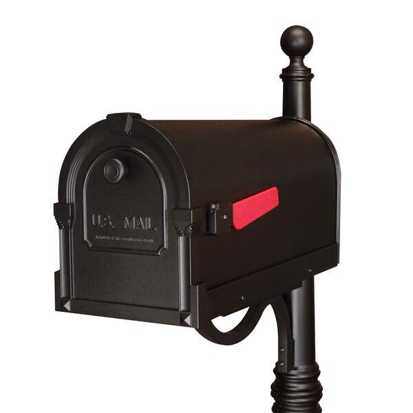 Savannah Black Curbside Mailbox, image 1