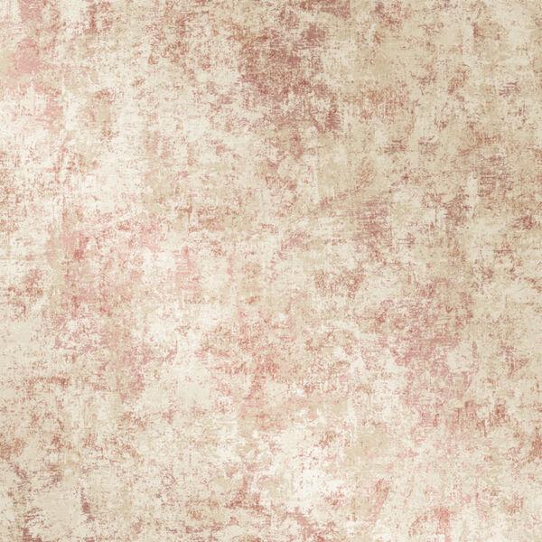 Distressed Gold Leaf Rose Peel and Stick Wallpaper, image 3