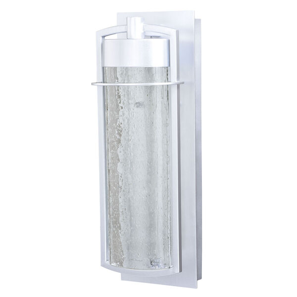 Logan Painted Satin Nickel LED Outdoor Wall Sconce, image 2