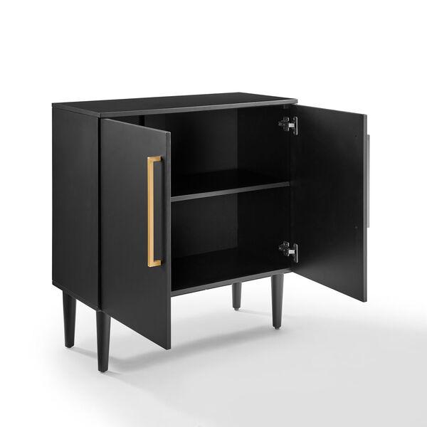Everett Matte Black Console Cabinet, image 6